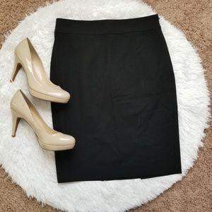 Ann Taylor classic black skirt